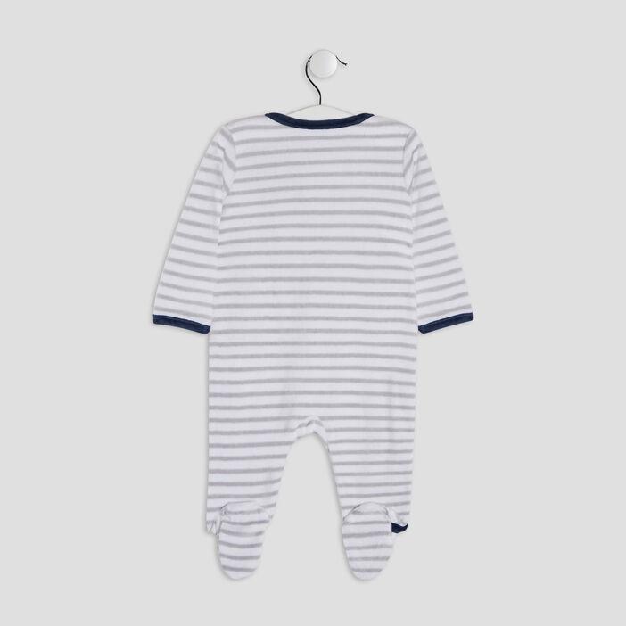 Pyjama, dors-bien bébé gris