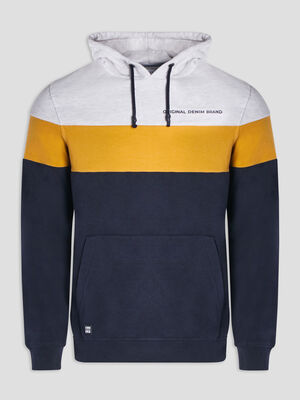 Sweat a capuche Creeks gris homme