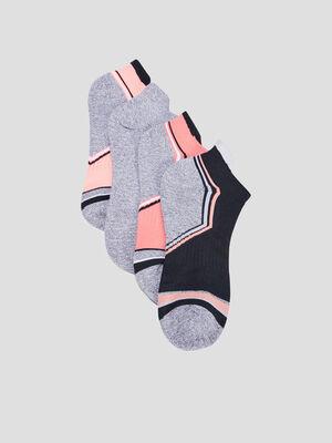 Chaussettes multicolore mixte