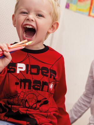 T shirt Spiderman rouge garcon