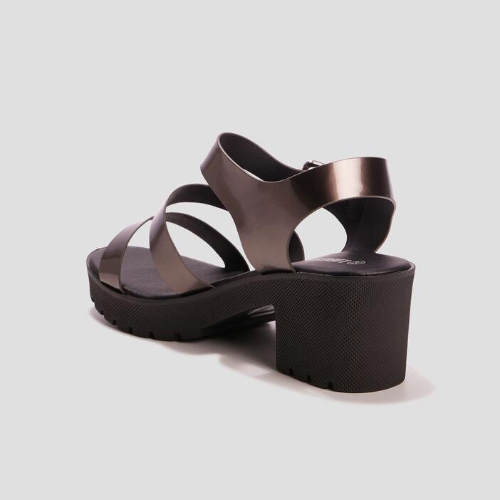 Sandales à talons Liberto femme couleur argent
