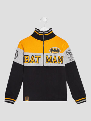 Sweat manches longues Batman multicolore garcon