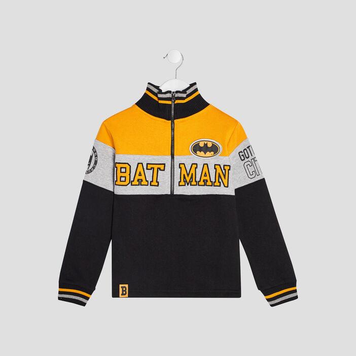 Sweat manches longues Batman garçon multicolore