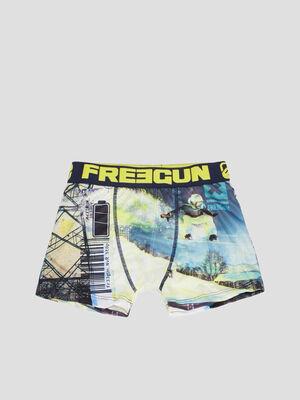 Boxer Freegun jaune garcon