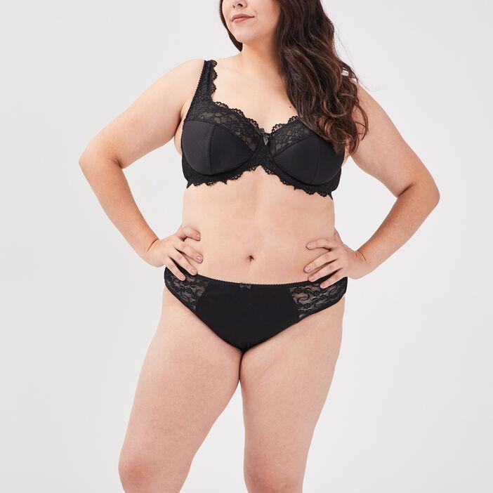Soutien-gorge grande taille femme grande taille noir