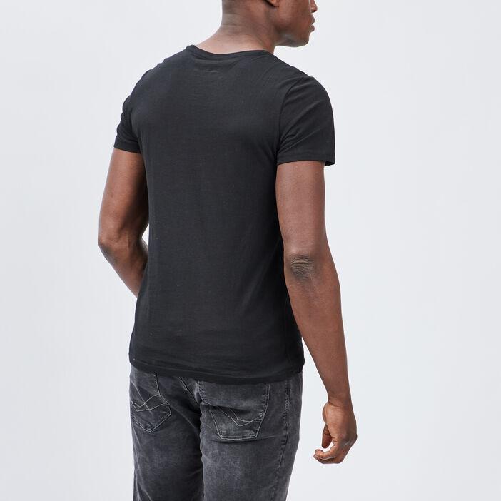 T-shirt Liberto homme noir