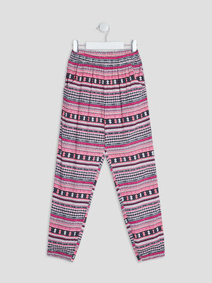 Pantalon jogging multicolore fille