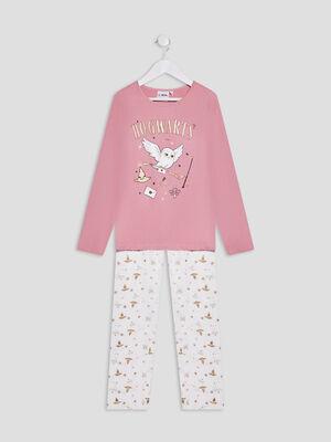 Ensemble pyjama Harry Potter rose fille
