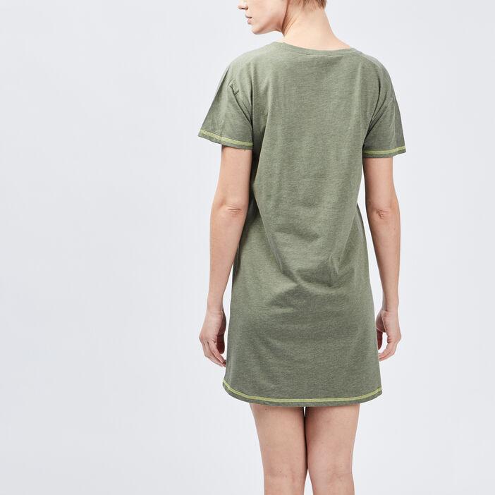 Chemise de nuit femme vert kaki