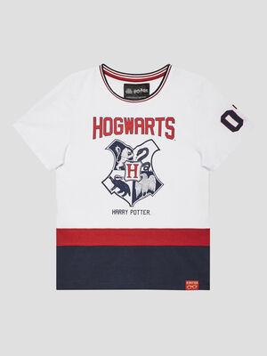 T shirt Harry Potter blanc garcon