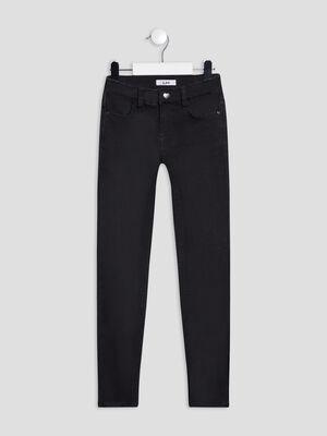 Jeans skinny noir fille