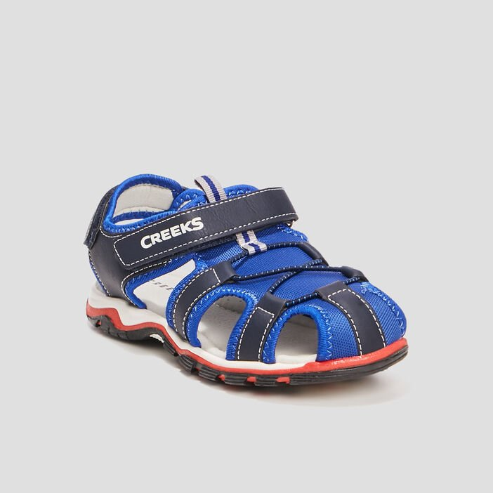 Sandales Creeks garçon bleu