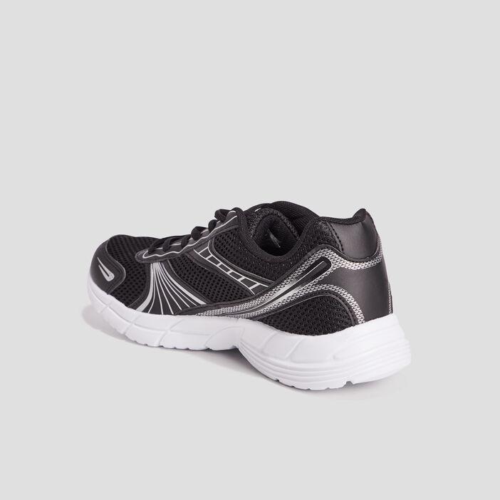 Baskets running femme noir