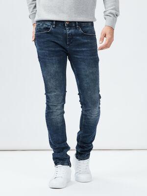 Jeans slim Creeks denim blue black homme