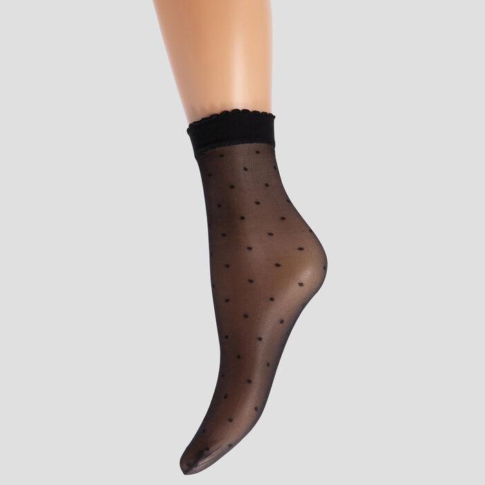Lot 2 paires socquettes  noir