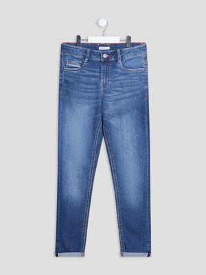 Jeans slim stretch Creeks denim double stone garcon