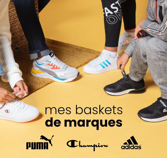 mes baskets de marques