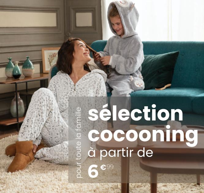sélection cocooning à partir de 6€99